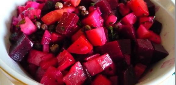 Cómo hacer una ensalada vinegret
