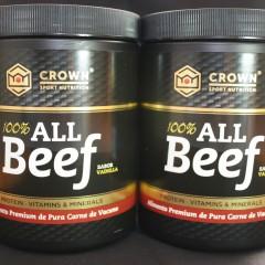 Probamos 100% ALL Beef, un suplemento proteico elaborado de pura carne de vacuno