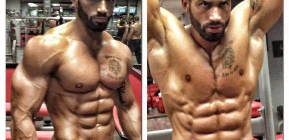 12 ejercicios de abdominales para lucirlos como Lazar Angelov